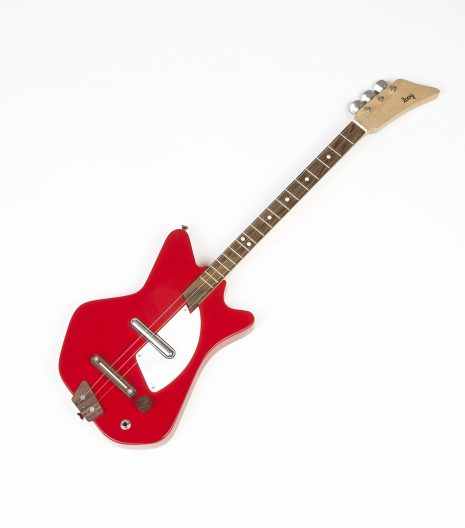 kids red guitar