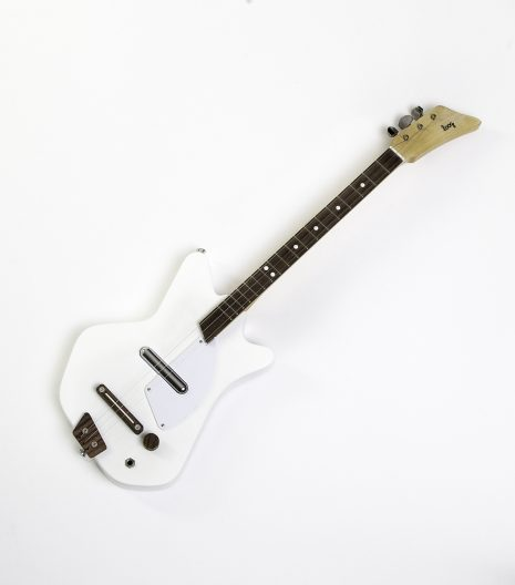 white kids guitar