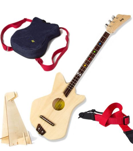 loog acoustic easy to play childrens acoustic guitar. Black Bedroom Furniture Sets. Home Design Ideas