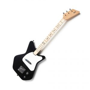 Kids black electric guitar