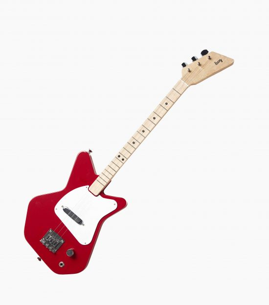 Kids red electric guitar