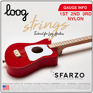 Loog nylon guitar strings