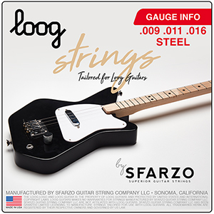 Loog electric guitar strings